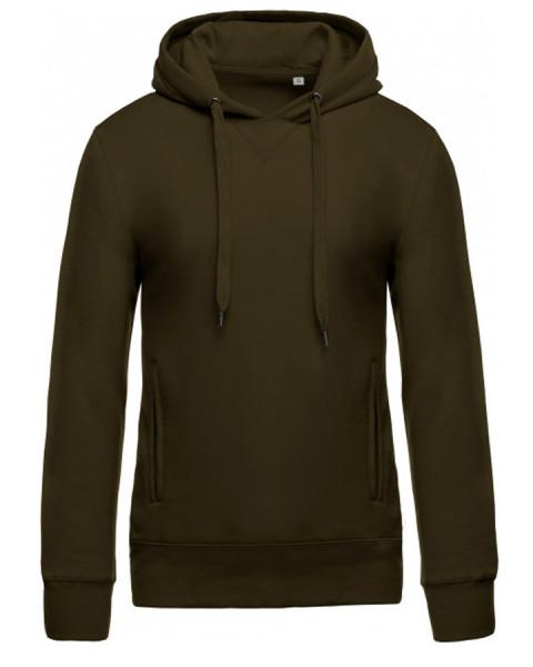 Sweatshirt à capuche Coton Biologique