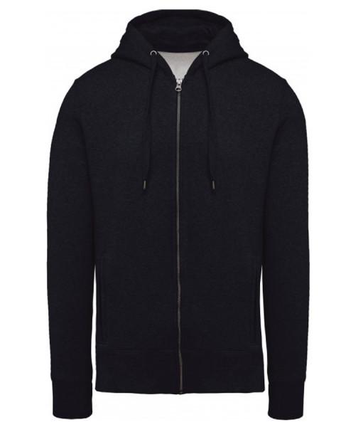 Sweatshirt zippé Coton Biologique